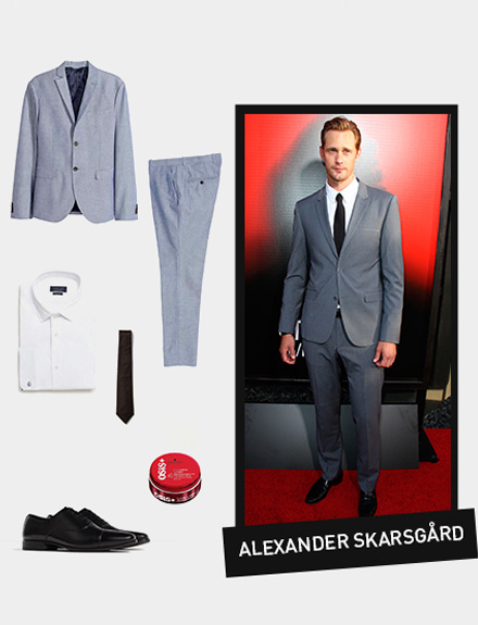 Get the look: Alexander Skarsgård