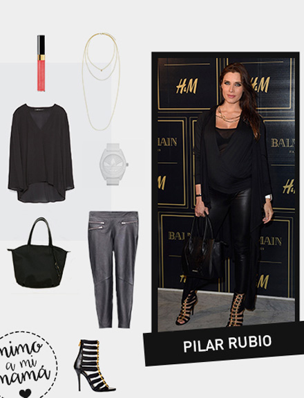 Get the look: Pilar Rubio