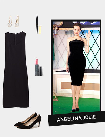 Get the look: Angelina Jolie