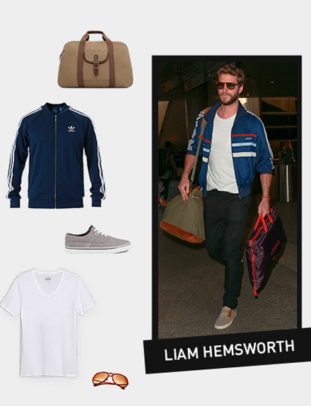 Get the look: Liam Hemsworth