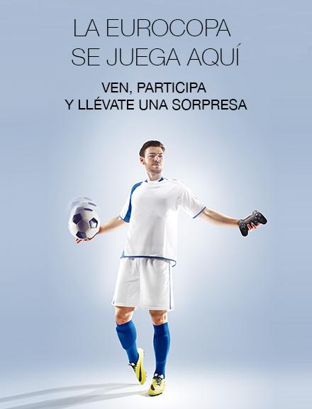 ¡Vive la Eurocopa con nosotros!