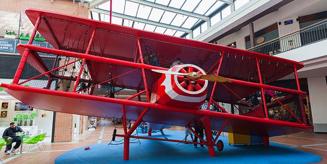 El Avión – Zona infantil planta 1