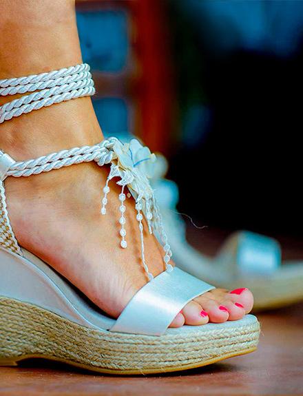 Zapatos para una boda