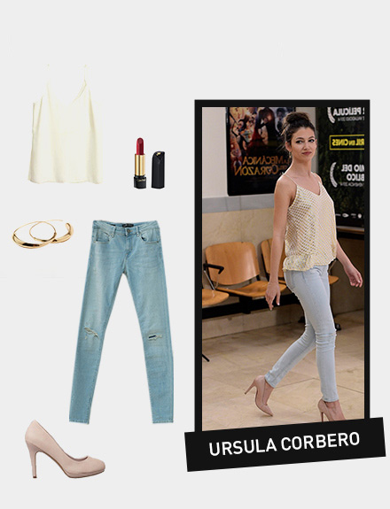Get the look: Úrsula Corberó