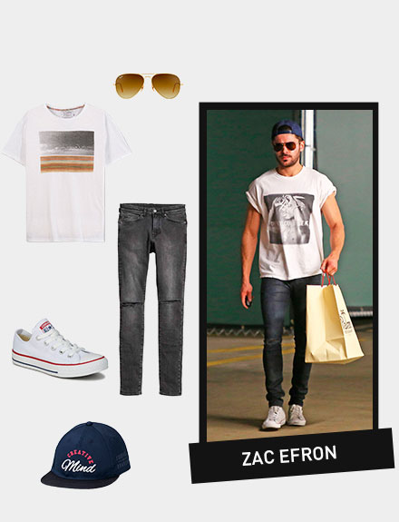 Get the look: Zac Efron