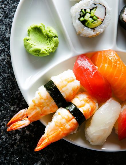 Como distinguir el buen sushi