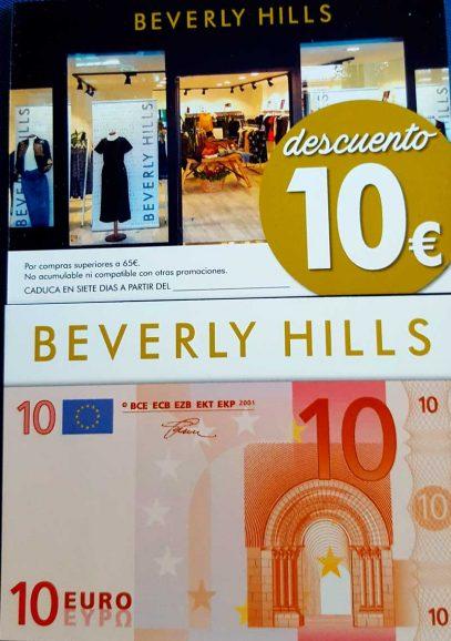 Descuento de 10€ en Beverly Hills