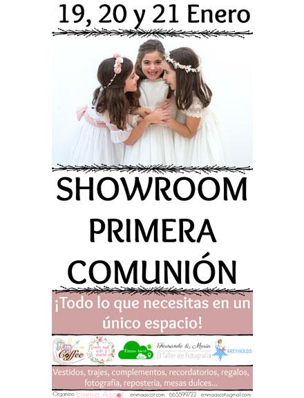 Showroom Primera Comunión de Emma Ascot