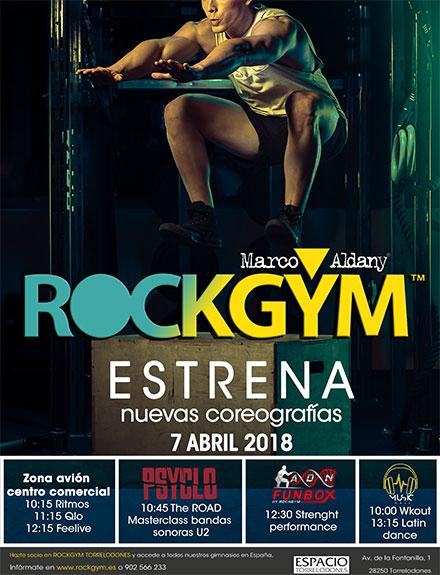 RockGym estrena nuevas coreografías