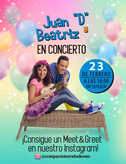 """Juan """"D"""" y Beatriz en Concierto"""