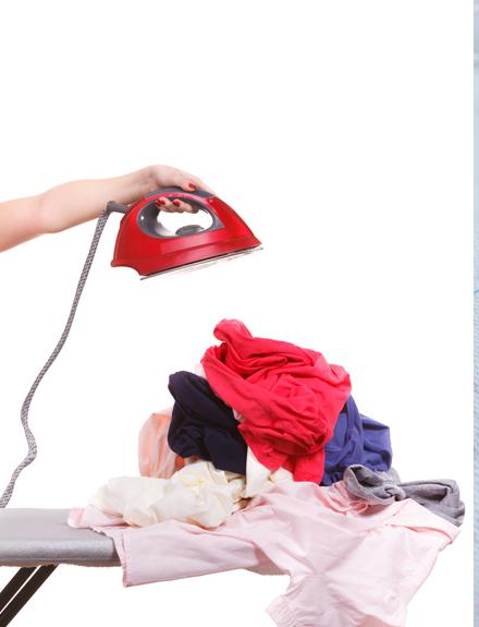 no planchar la ropa