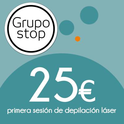 Sesión láser Grupo Stop