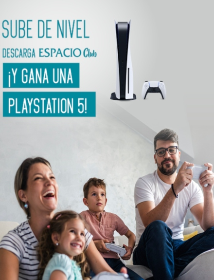 ¡Sube de nivel y gana una PS5!